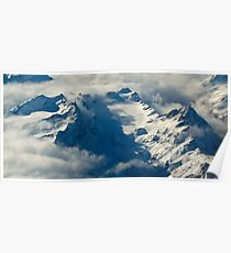 Southern Alps Poster