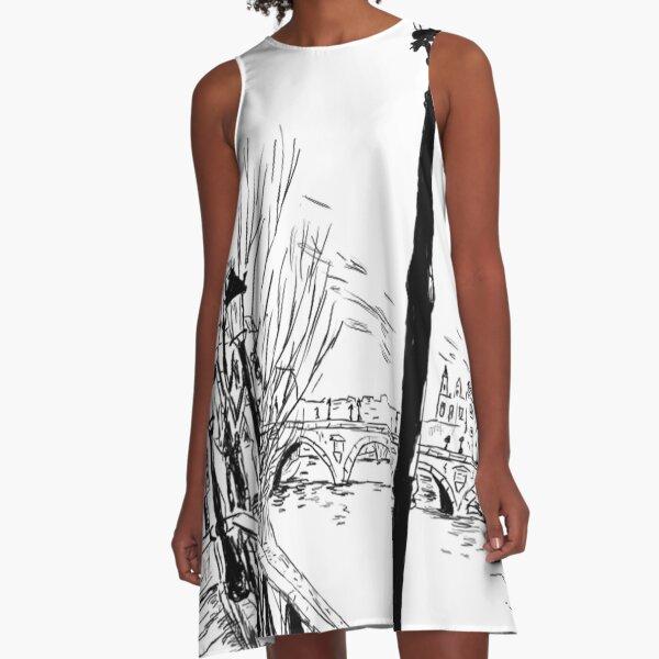 La Seine A-Line Dress