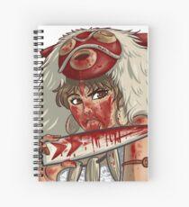 Mononoke's Bloody Knife Spiral Notebook