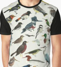 Bird Fanatic Graphic T-Shirt