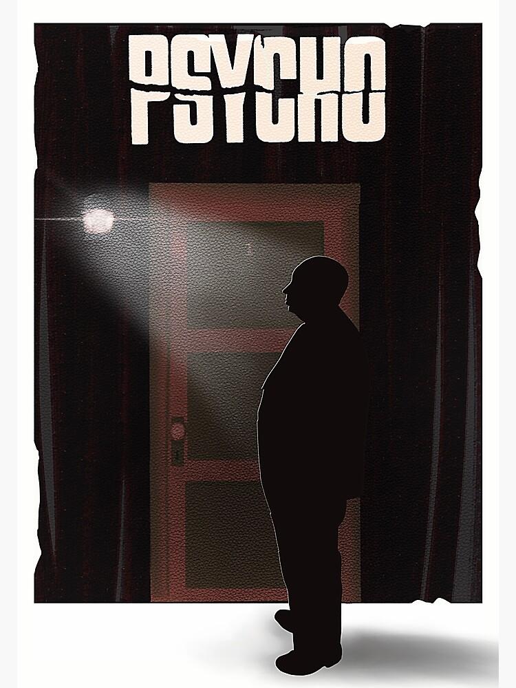 Hitchcock's Psycho by HearNoEvilArt