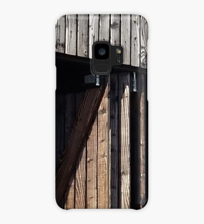 Wooden shack - near Falkirk, Scotland Case/Skin for Samsung Galaxy