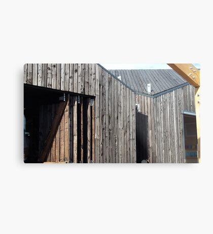 Wooden shack - near Falkirk, Scotland Metal Print