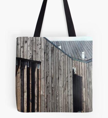 Wooden shack - near Falkirk, Scotland Tote Bag