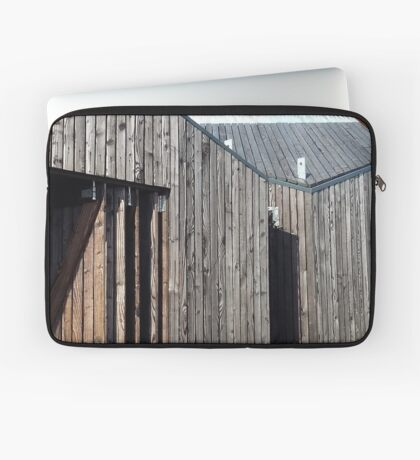 Wooden shack - near Falkirk, Scotland Laptop Sleeve