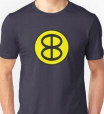 Blue Blaze Irregular - Image only Unisex T-Shirt