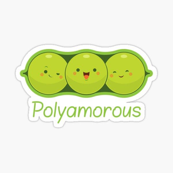 Poly Peas Sticker