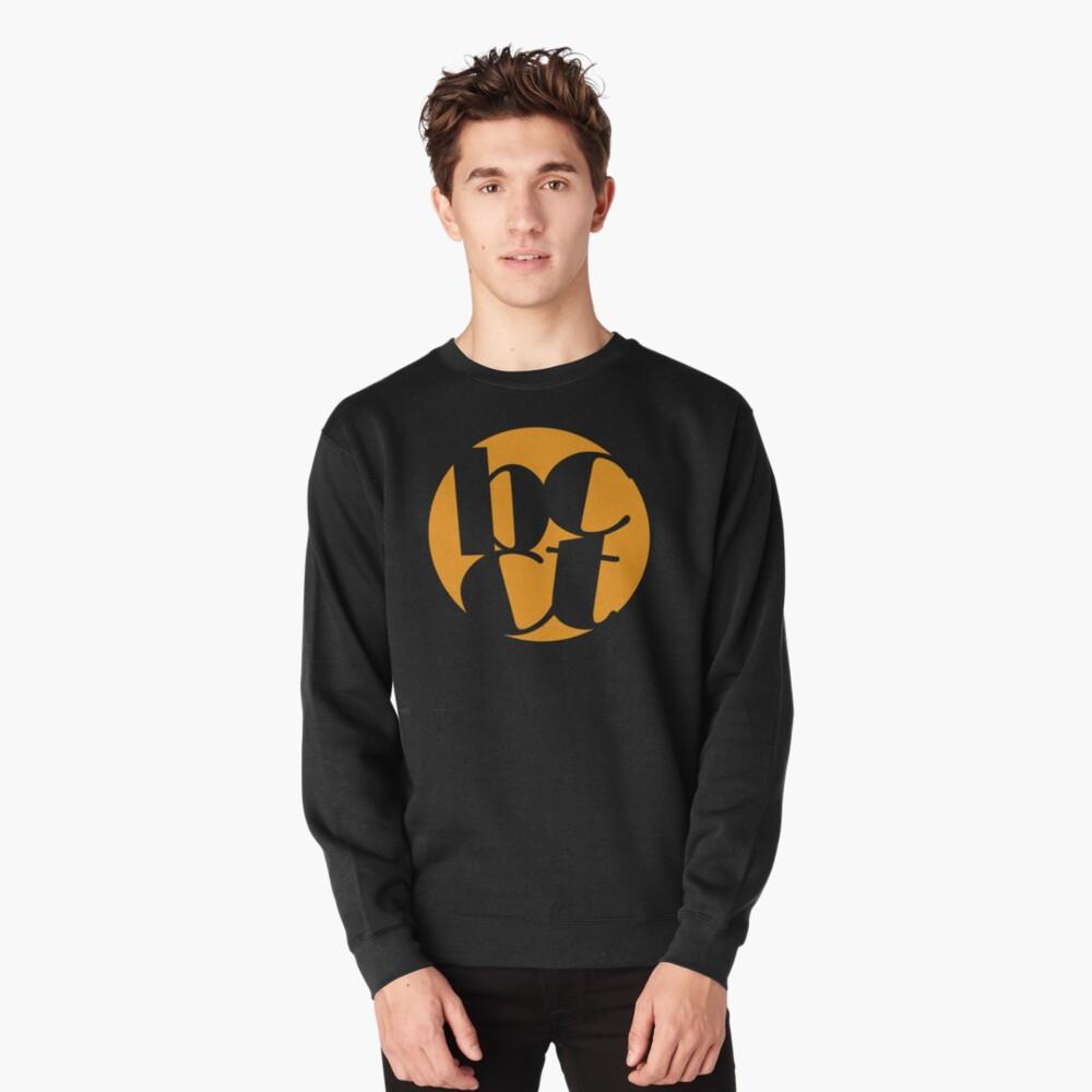 Throwback Blacktown Theatre Company Logo (Gold Print) Pullover Sweatshirt