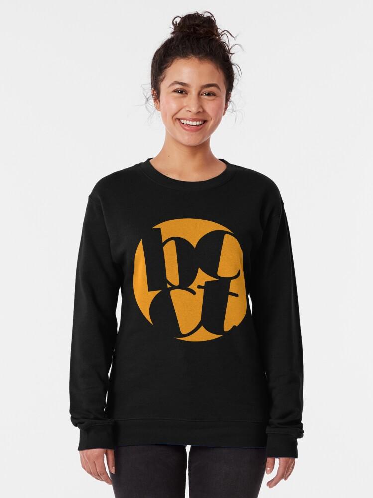 Alternate view of Throwback Blacktown Theatre Company Logo (Gold Print) Pullover Sweatshirt