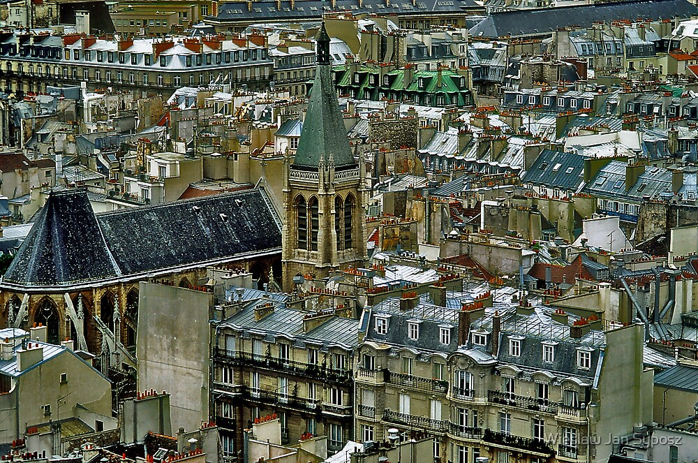 Charles Dickens Paris by Wieslaw Jan Syposz