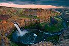 Palouse Falls Sunset by Dan Mihai