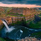 Palouse Falls Sunset by Dan Mihai
