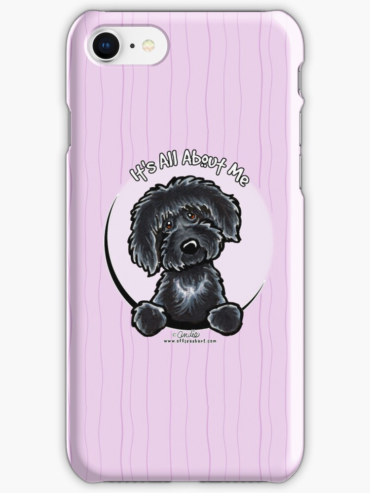 Black Labradoodle :: It's All About Me by offleashart