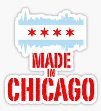 Made in Chicago Sticker