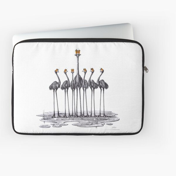 A Longneck and Six Stubbies (White) Laptop Sleeve