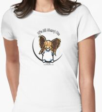 Papillon :: It's All About Me Womens Fitted T-Shirt
