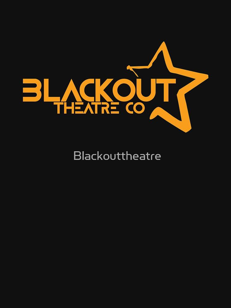 Blackout Theatre Company Logo (Gold Print) by Blackouttheatre
