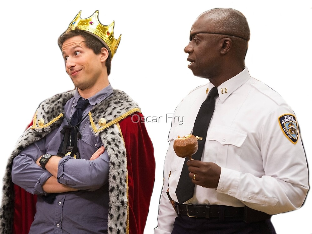 Jake Peralta and Raymond Holt by Oscar Fry