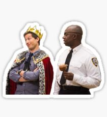 Jake Peralta and Raymond Holt Sticker