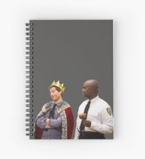 Jake Peralta and Raymond Holt Spiral Notebook