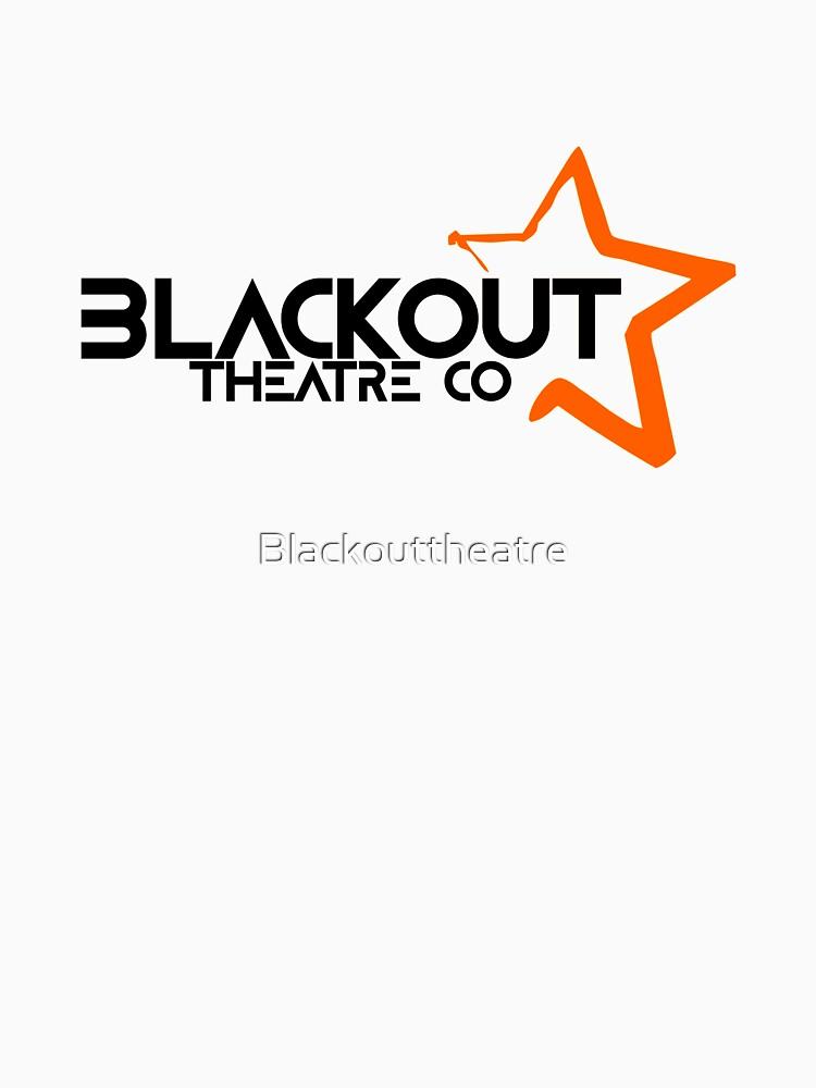 Blackout Theatre Company Logo (Black Print) by Blackouttheatre