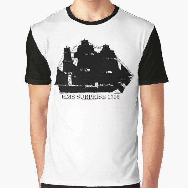 HMS Surprise by Tony Fernandes Graphic T-Shirt