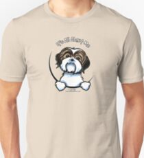 Brown/White Shih Tzu :: It's All About Me T-Shirt
