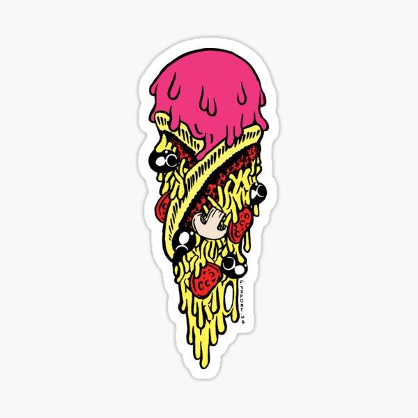 Glace pizza Sticker