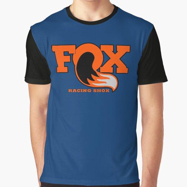 Fox Racing Shox - Orange Graphic T-Shirt