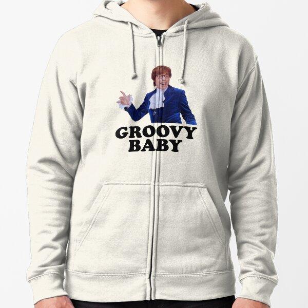 Austin Powers - Groovy Baby Zipped Hoodie