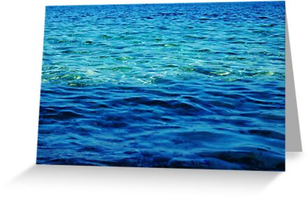 The Ionian Sea by Agnes McGuinness