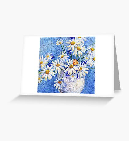 Camomile bouquet Greeting Card