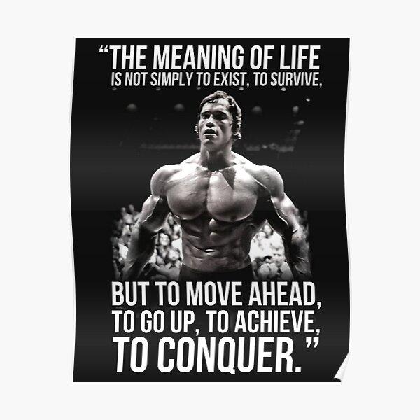 Le sens de la vie - Arnold Schwarzenegger (HD) Poster