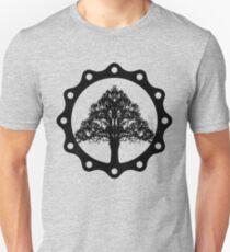 Tree of Life circle, black style Unisex T-Shirt