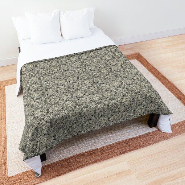 Vintage Tile Pattern Comforter