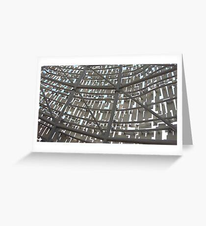 Kelpie - inside frame Greeting Card