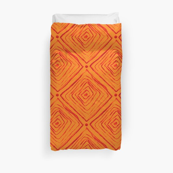 Indigenous Brazilian Pattern  Duvet Cover