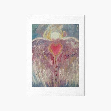 Angel of Beauty Art Board Print
