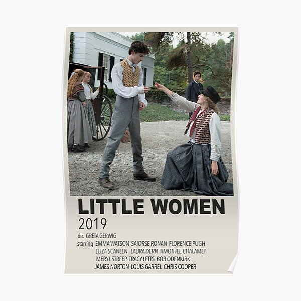 affiche de petites femmes (fan made) Poster