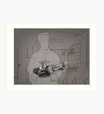 Gone - Warren - BtVS S6E11 Art Print