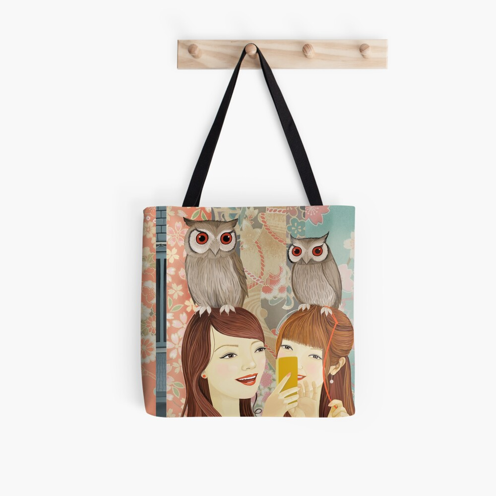 The Owl Cafe Tote Bag