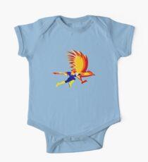 Falkenschlag Baby Body Kurzarm
