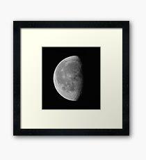 Luna . Landscape #1. Framed Print