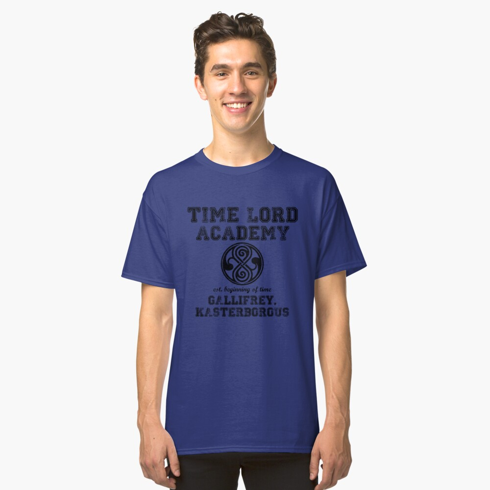 Time Lord Academy Classic T-Shirt Front