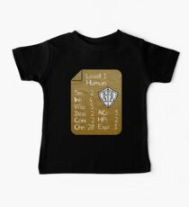 Level 1 - Human [only for Nerd Babies] -Original Colors Baby T-Shirt