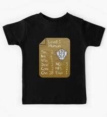 Level 1 - Human [only for Nerd Babies] -Original Colors Kids Tee