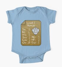 Level 1 - Human [only for Nerd Babies] -Original Colors Kids Clothes