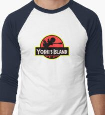 Super Jurassic! Men's Baseball ¾ T-Shirt