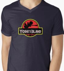 Super Jurassic! Men's V-Neck T-Shirt