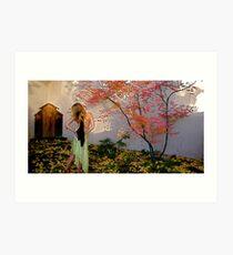 Nova Cynthia In The Garden of Delights, Santa Fe, NM Art Print